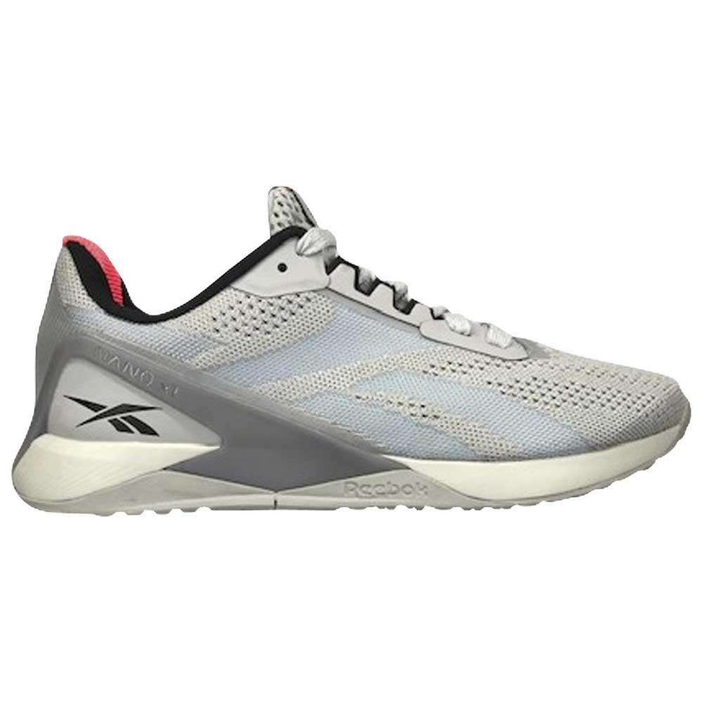 Reebok Nano X1 EU 39 Pure Grey 2 / Pure Grey 4 / Orange Flare