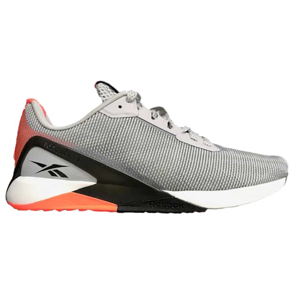 Reebok Nano X1 Grit EU 42 Cold Grey 2 / Core Black / Orange Flare