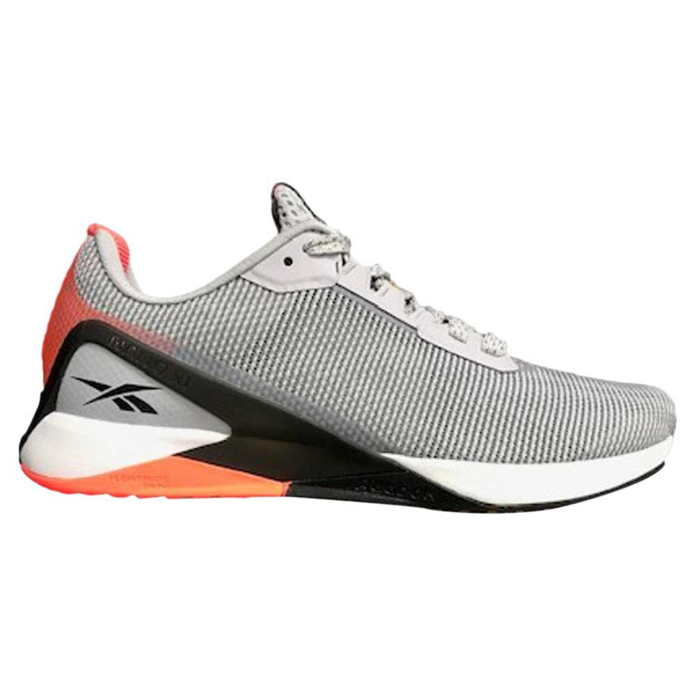 Reebok Nano X1 Grit EU 37 1/2 Cold Grey 2 / Core Black / Orange Flare