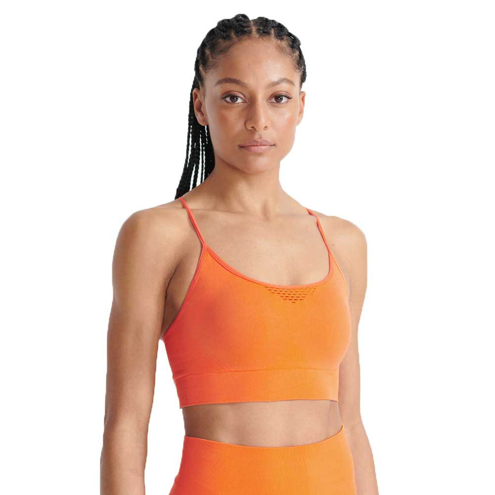 Superdry Training Seamless Contour M Jaffa Orange