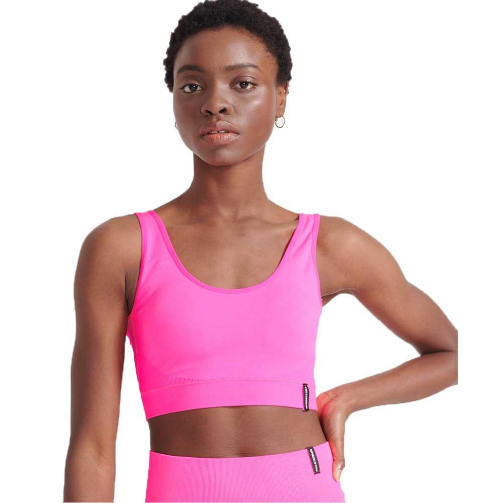 Superdry Flex Seamless S Bright Pink