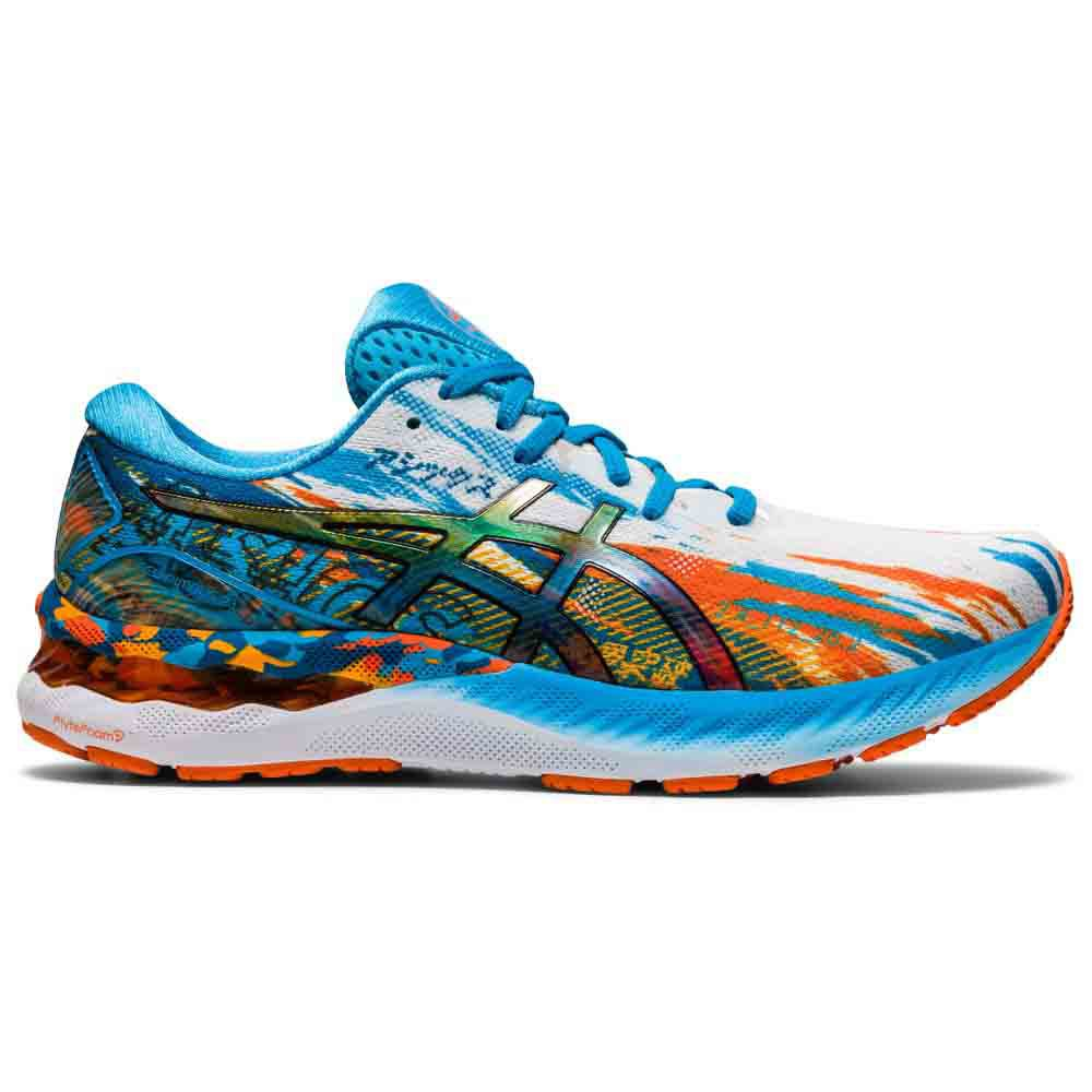 Asics Gel Nimbus 23 EU 44 Digital Aqua / Marigold Orange