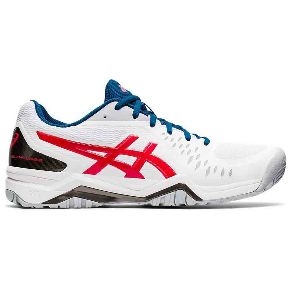 Asics Gel Challenger 12 Hard Court EU 50 1/2 White / Classic Red