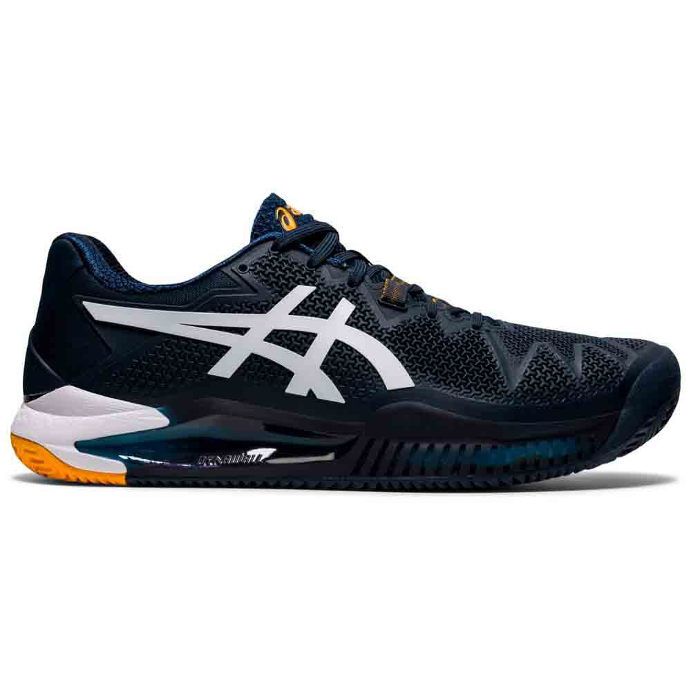 Asics Gel Resolution 8 Clay EU 50 1/2 French Blue / White