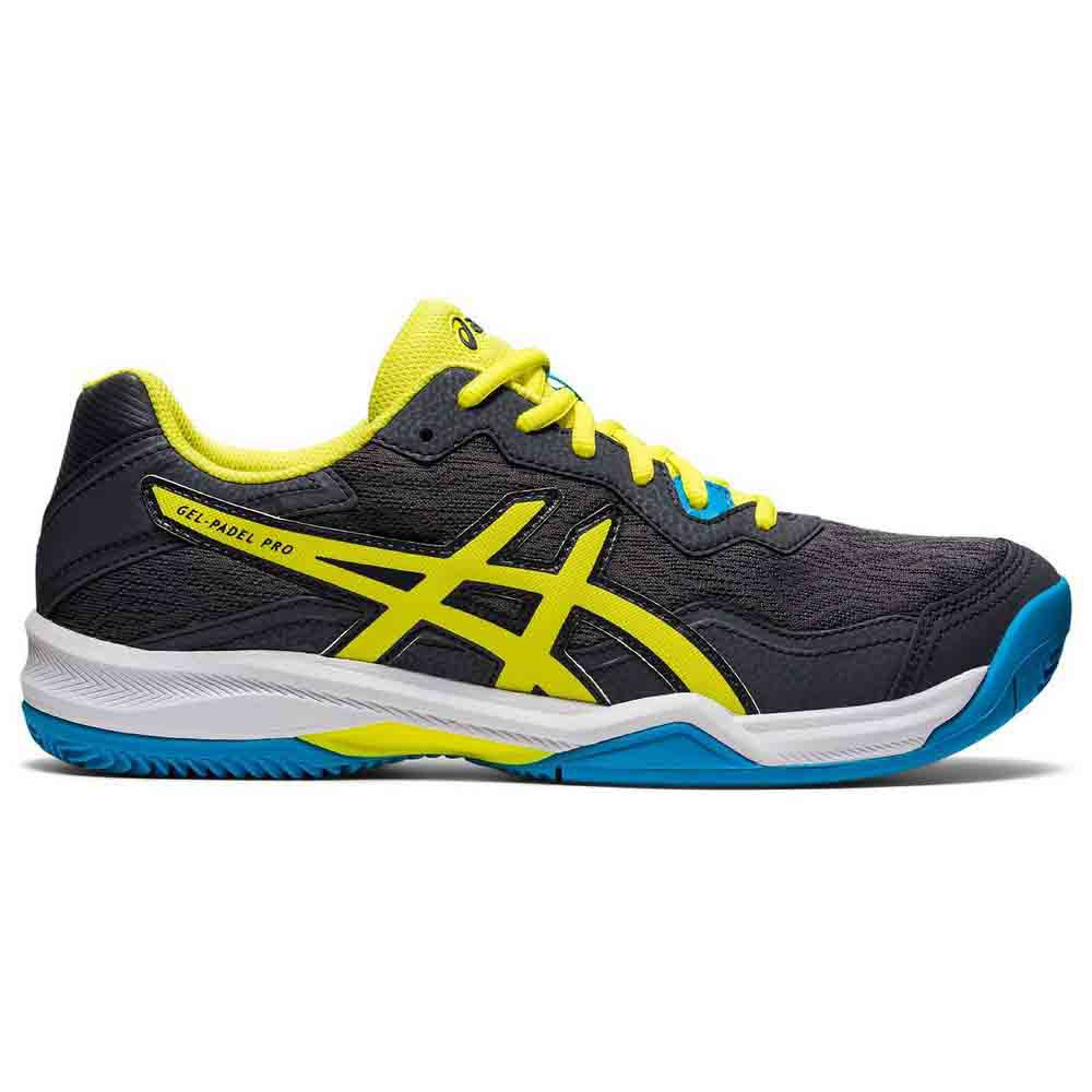 Asics Gel Padel Pro 4 EU 44 Carrier Grey / Sour Yuzu