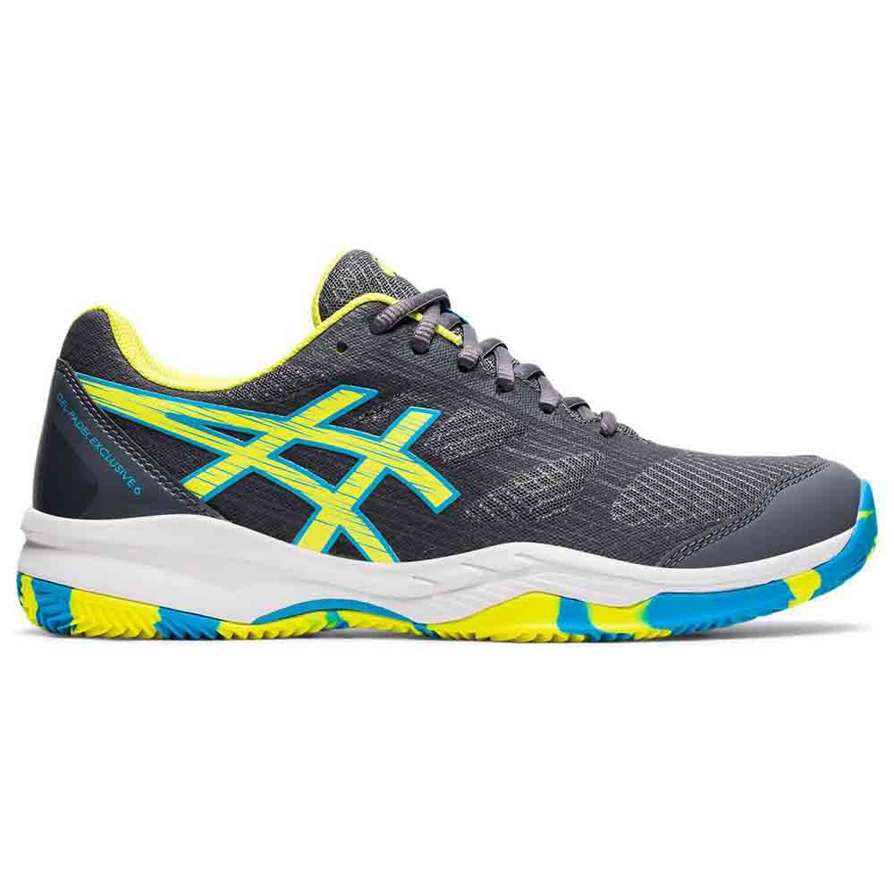 Asics Gel Padel Exclusive 6 EU 44 Carrier Grey / Sour Yuzu