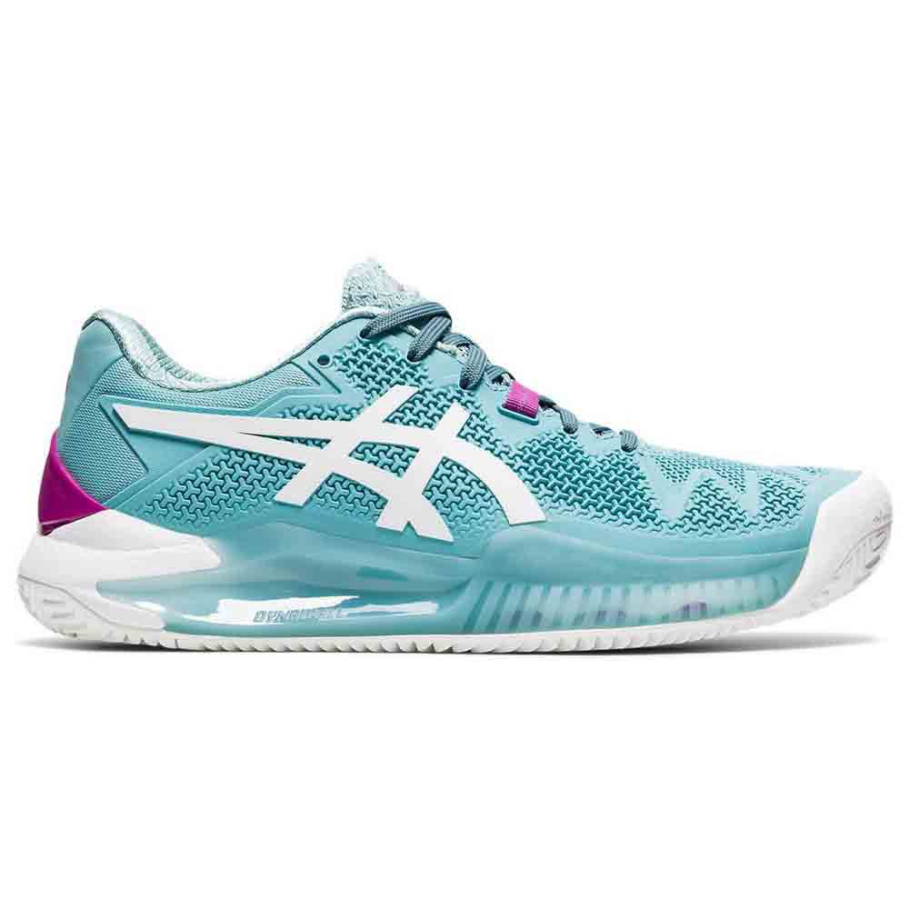 Asics Gel Resolution 8 Clay EU 37 Smoke Blue / White