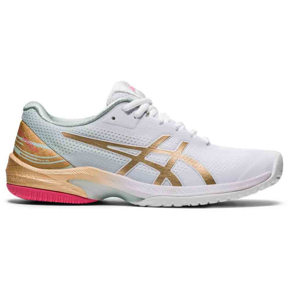 Asics Chaussures Court Speed Ff Le EU 37 White / Champagne