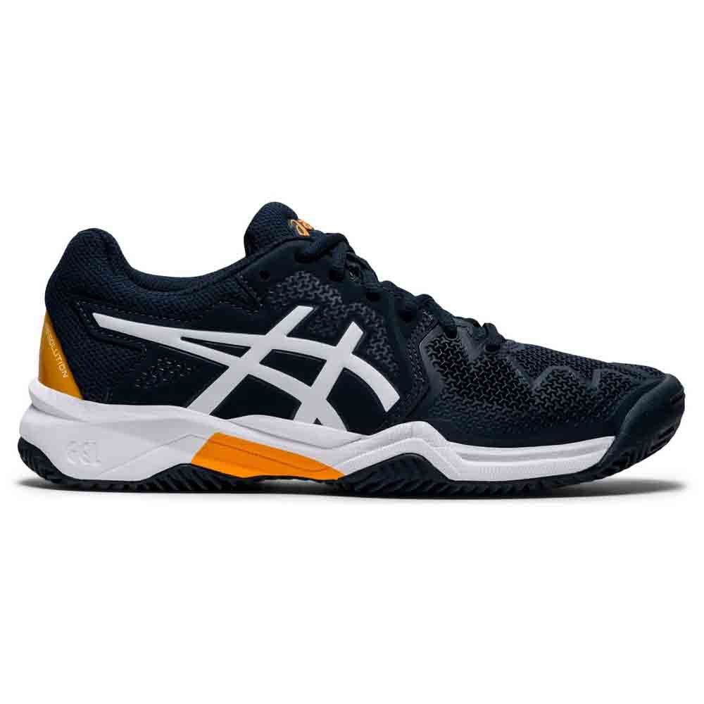 Asics Chaussures Gel Resolution 8 Gs EU 32 1/2 French Blue / White