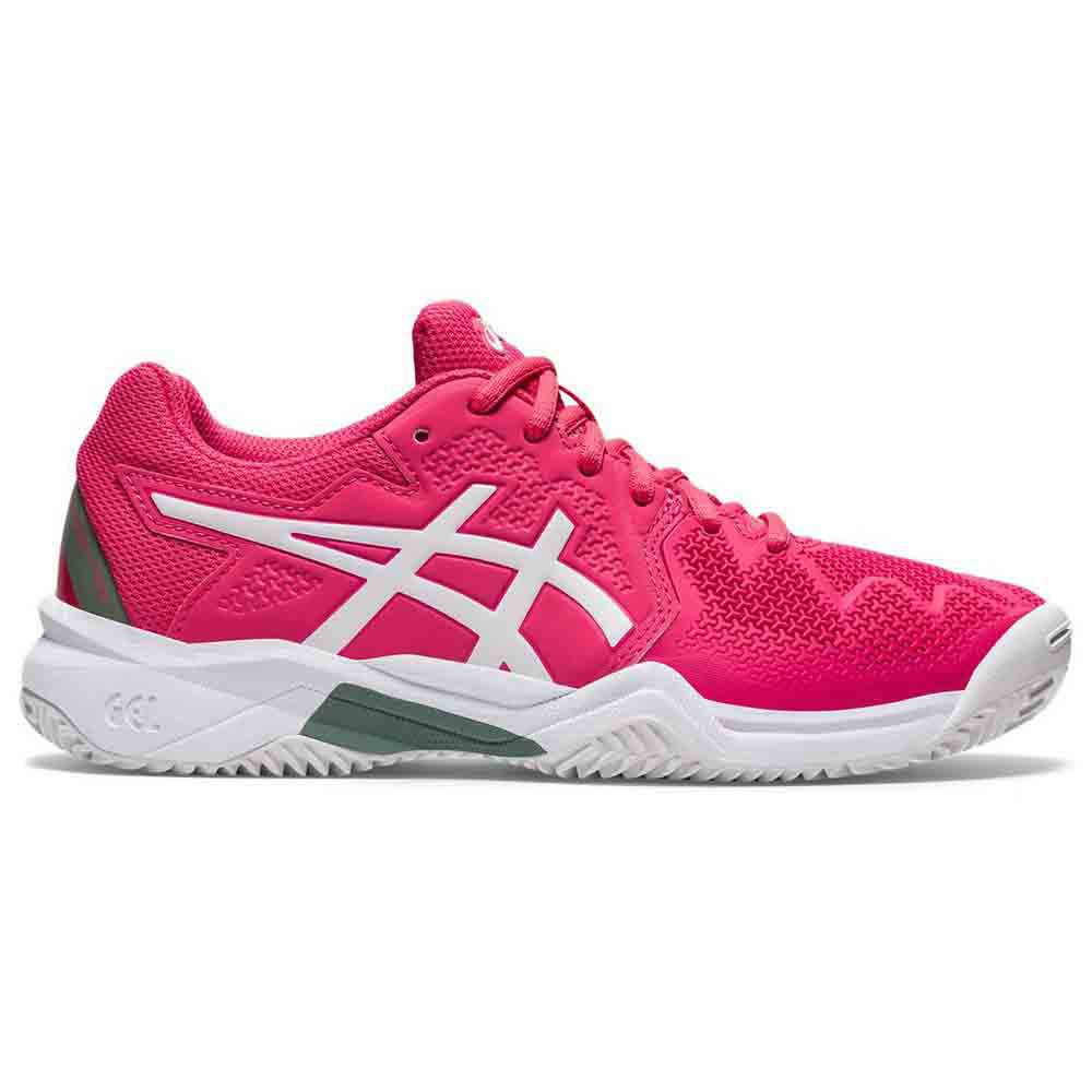 Asics Gel Resolution 8 Gs Clay EU 37 Pink Cameo / White