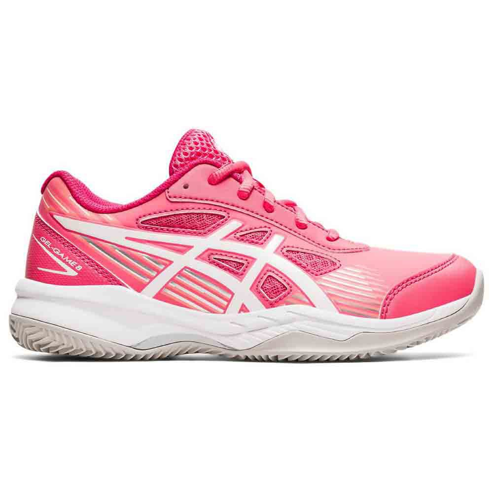 Asics Gel Game 8 Clay Oc Gs EU 37 Pink Cameo / White