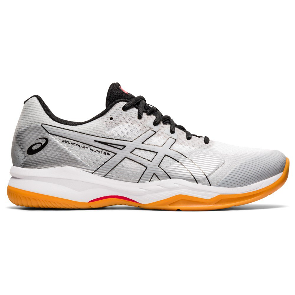 Asics Chaussures Indoor Gel Court Hunter 2 EU 50 1/2 White / Piedmont Grey