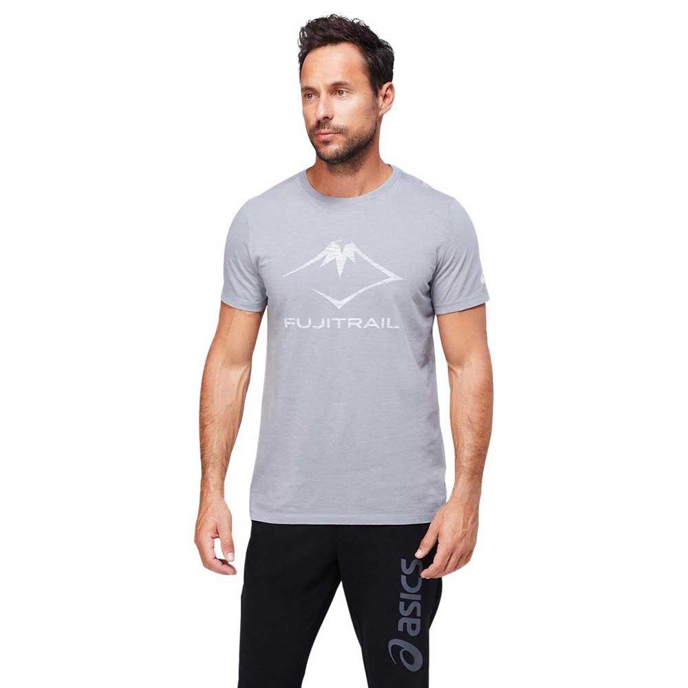 Asics T-shirt Manche Courte Fuji Trail Tea XXL Graphite Grey