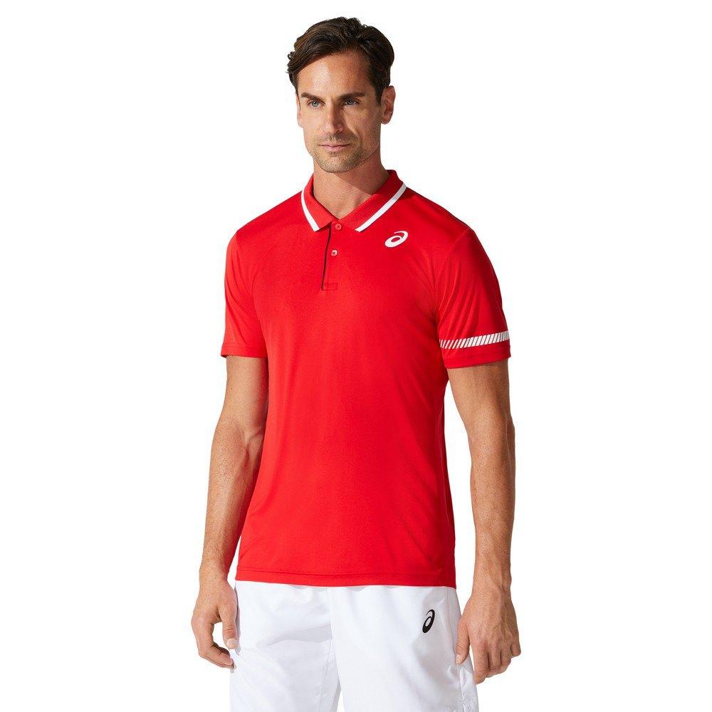Asics Court L Classic Red