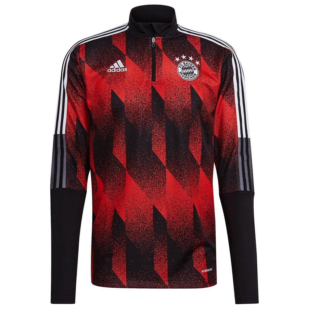 Adidas Fc Bayern Munich 20/21 S Black / Fcb True Red