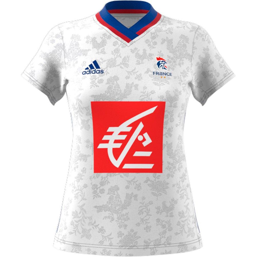 Adidas France Réplique M White / Team Royal Blue