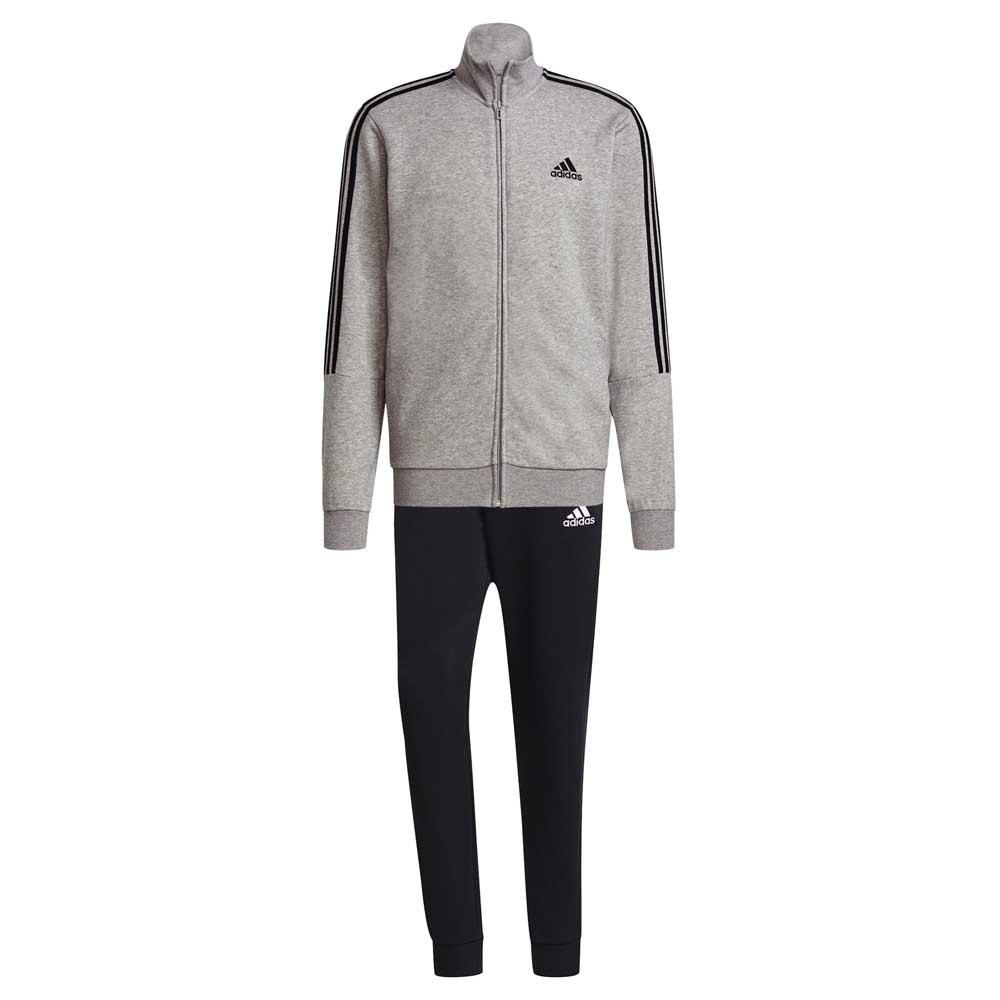 Adidas Aeroready Essentials 3 Stripes 216 Medium Grey Heather / Black / White