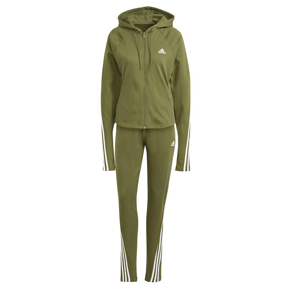 Adidas Sportswear Slim Fleece M Wild Pine