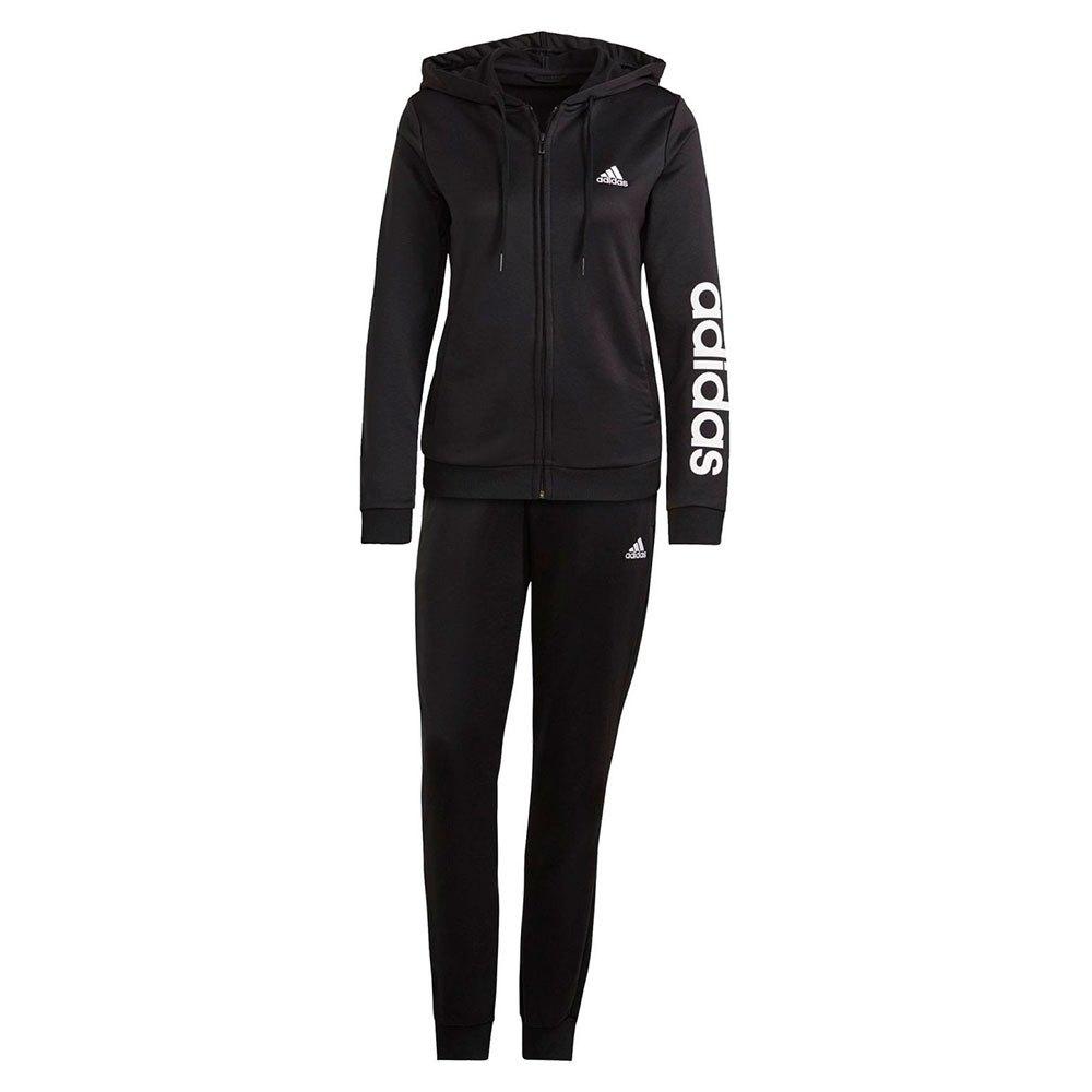 Adidas Essentials Logo French Terry XXS Black / White
