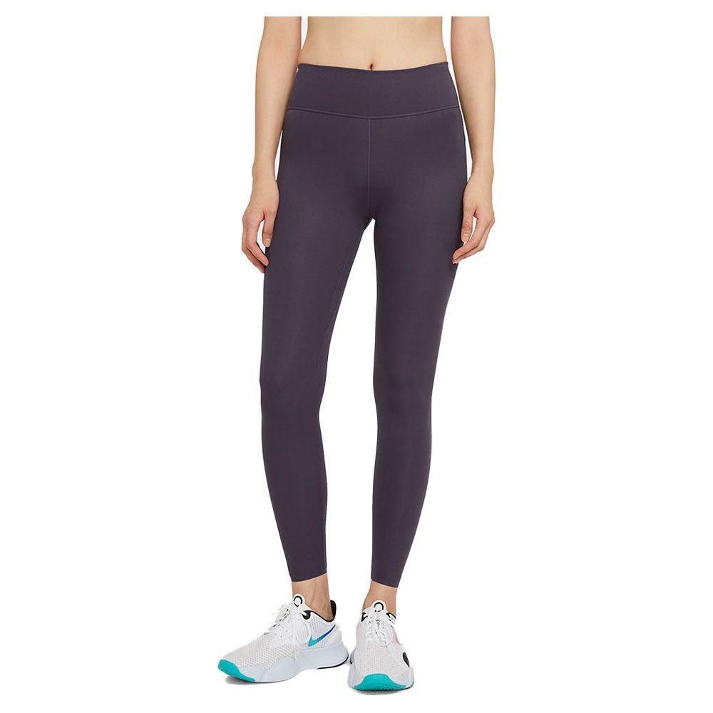 Nike Legging One Luxe Taille Moyenne L Dark Raisin / Clear