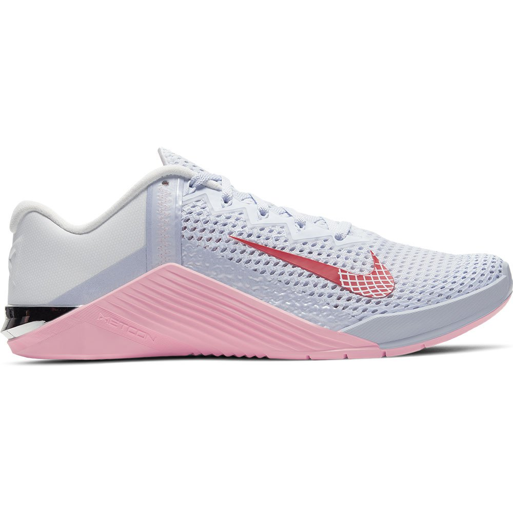 Nike Metcon 6 EU 42 Football Grey / Bright Crimson