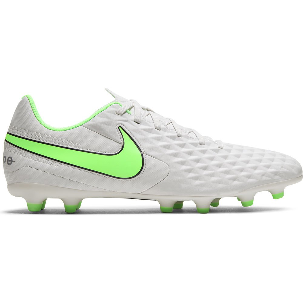 Nike Tiempo Legend Viii Club Fg/mg Football Boots EU 39 Platinum Tint / Rage Green