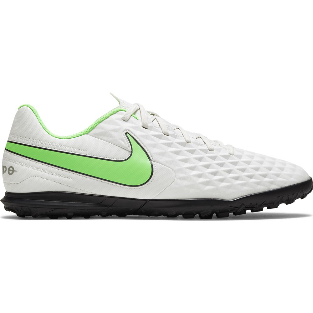 Nike Tiempo Legend Viii Club Tf Football Boots EU 44 1/2 Platinum Tint / Rage Green
