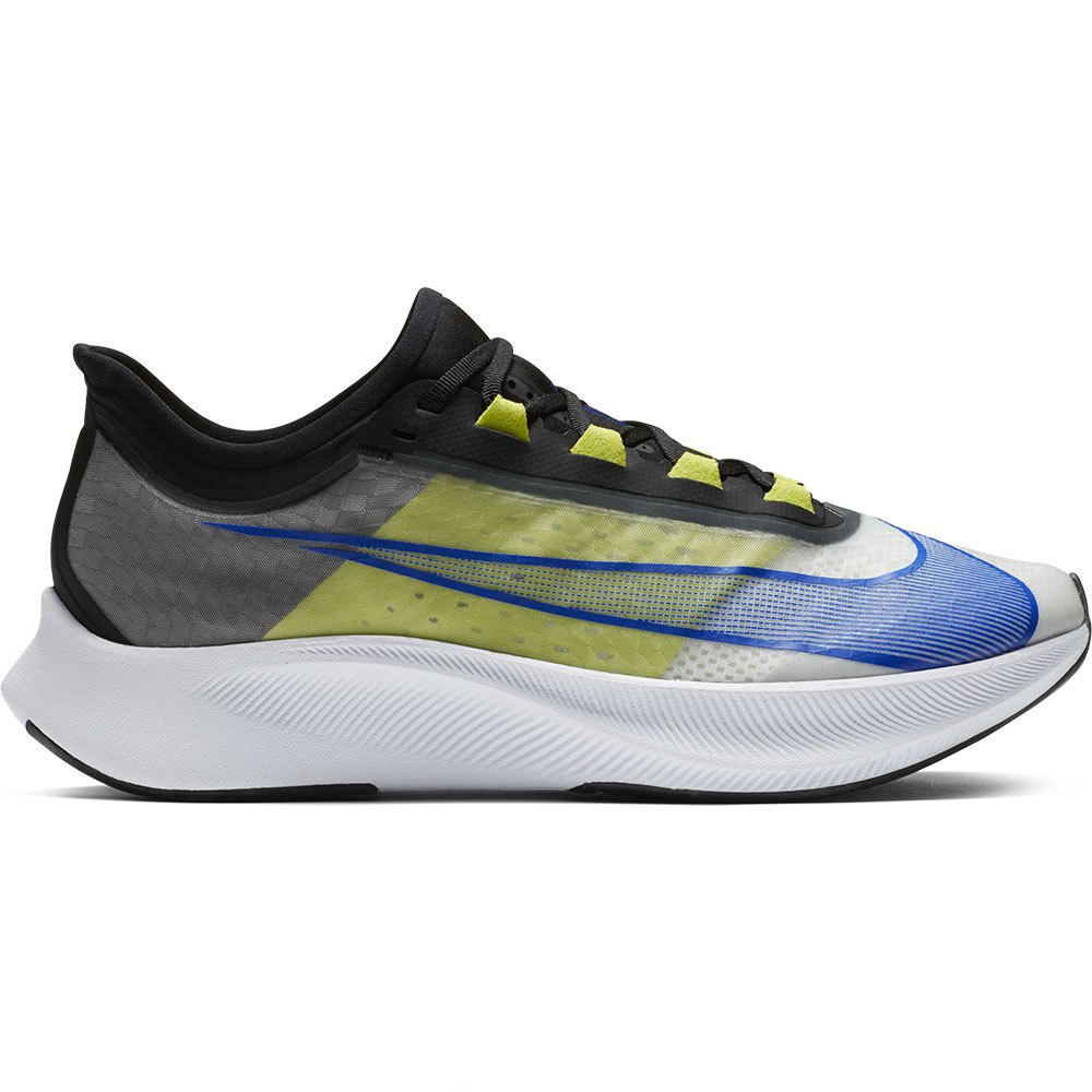 Nike Zoom Fly 3 EU 44 1/2 White / Racer Blue / Cyber / Black