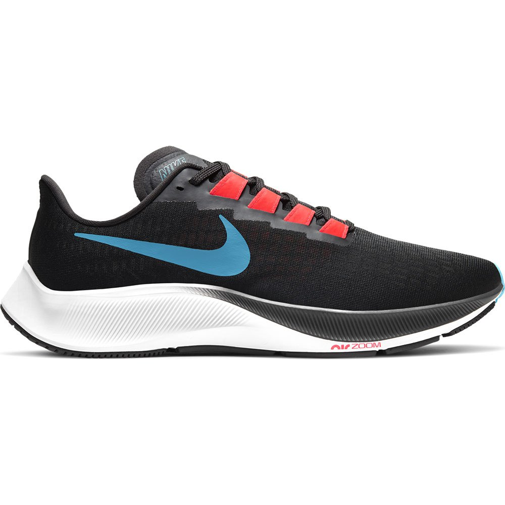 Nike Scarpe Running Air Zoom Pegasus 37 EU 40 Off Noir / Light Blue Fury / Bright Crimson