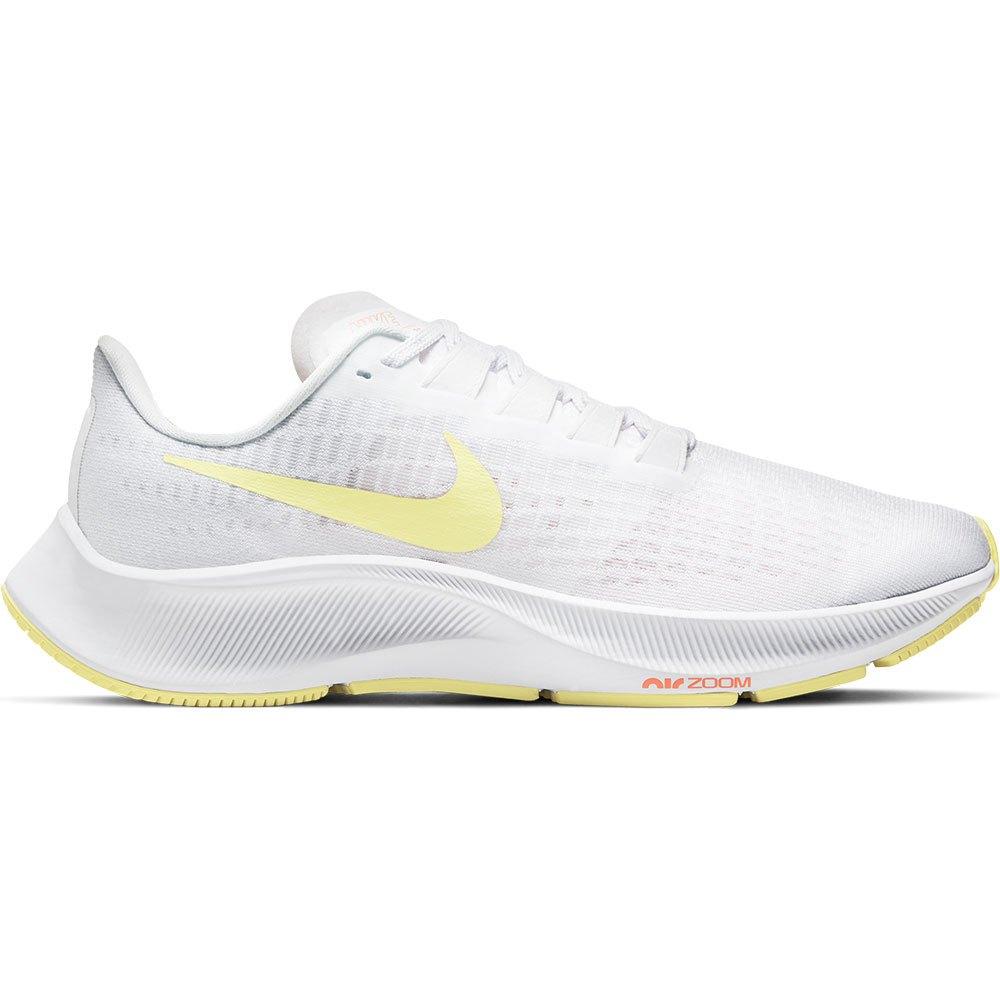 Nike Scarpe Running Air Zoom Pegasus 37 EU 42 White / Light Zitron / Bright Mango