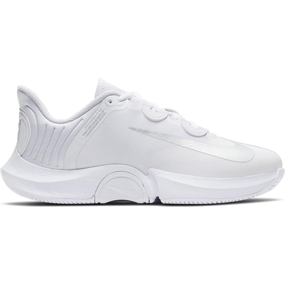 Nike Court Air Zoom Gp Turbo Hard Court EU 42 White / Metallic Silver