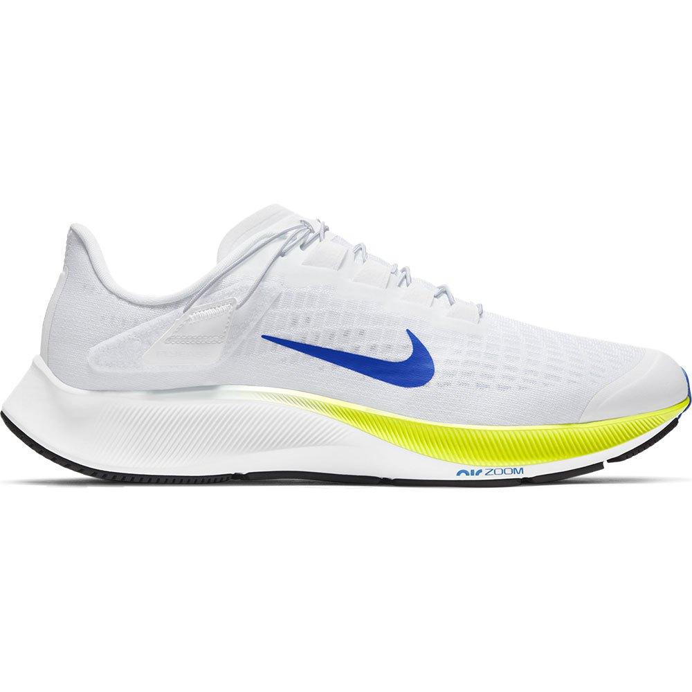 Nike Air Zoom Pegasus 37 Flyease EU 44 White / Racer Blue / Cyber / Black