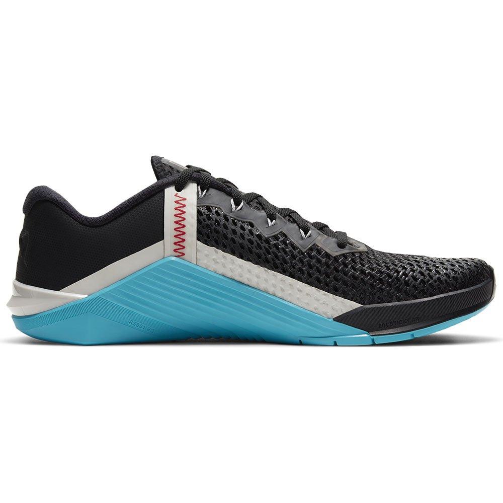 Nike Metcon 6 EU 44 Black / University Red / Light Blue Fury