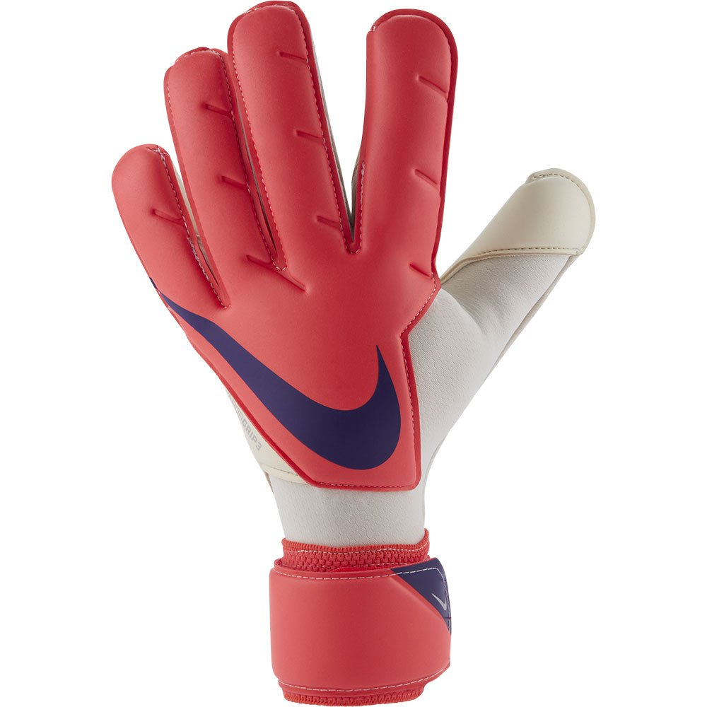 Nike Gants Gardien Vapor Grip 3 6 Bright Crimson / Indigo Burst