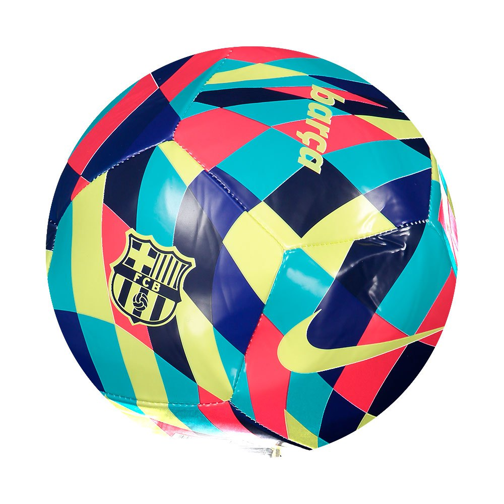 Nike Fc Barcelona Pitch 5 Limelight / Multicolor / Limelight