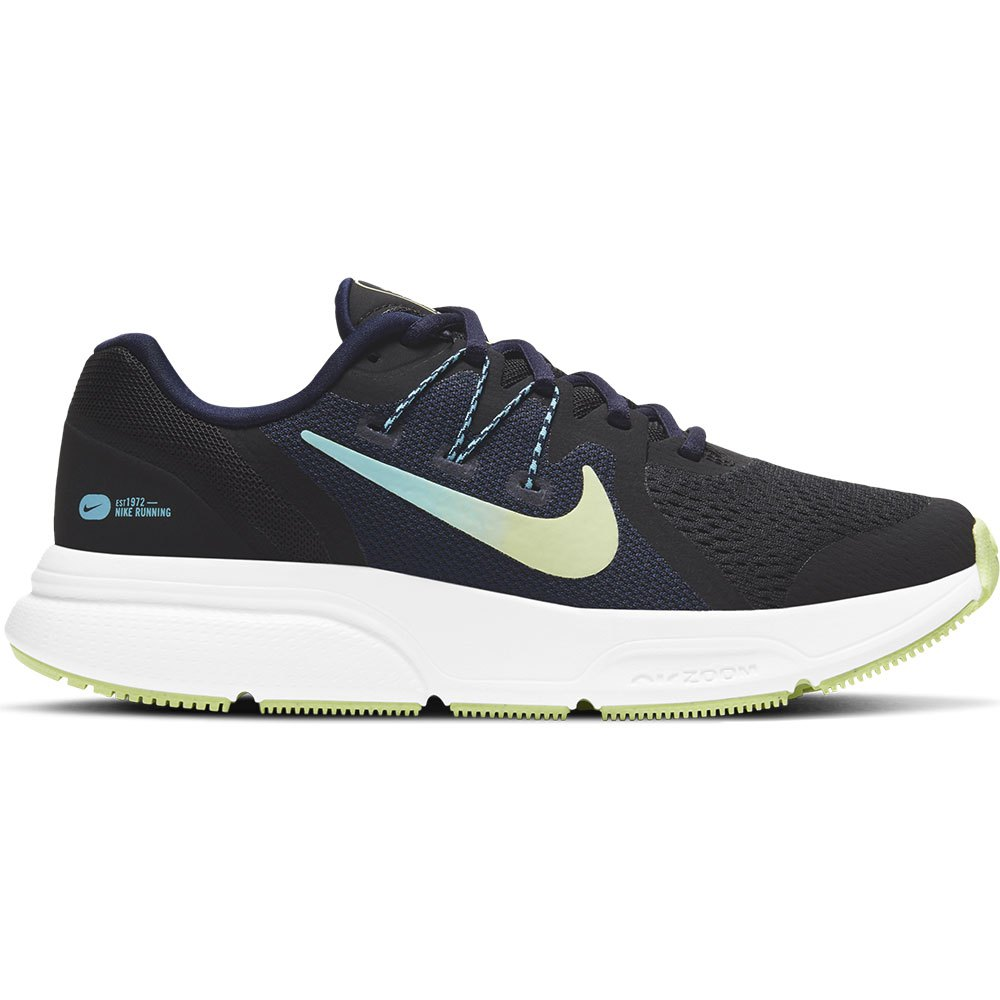 Nike Zoom Span 3 EU 42 Black / Light Liquid Lime / Blackened Blue