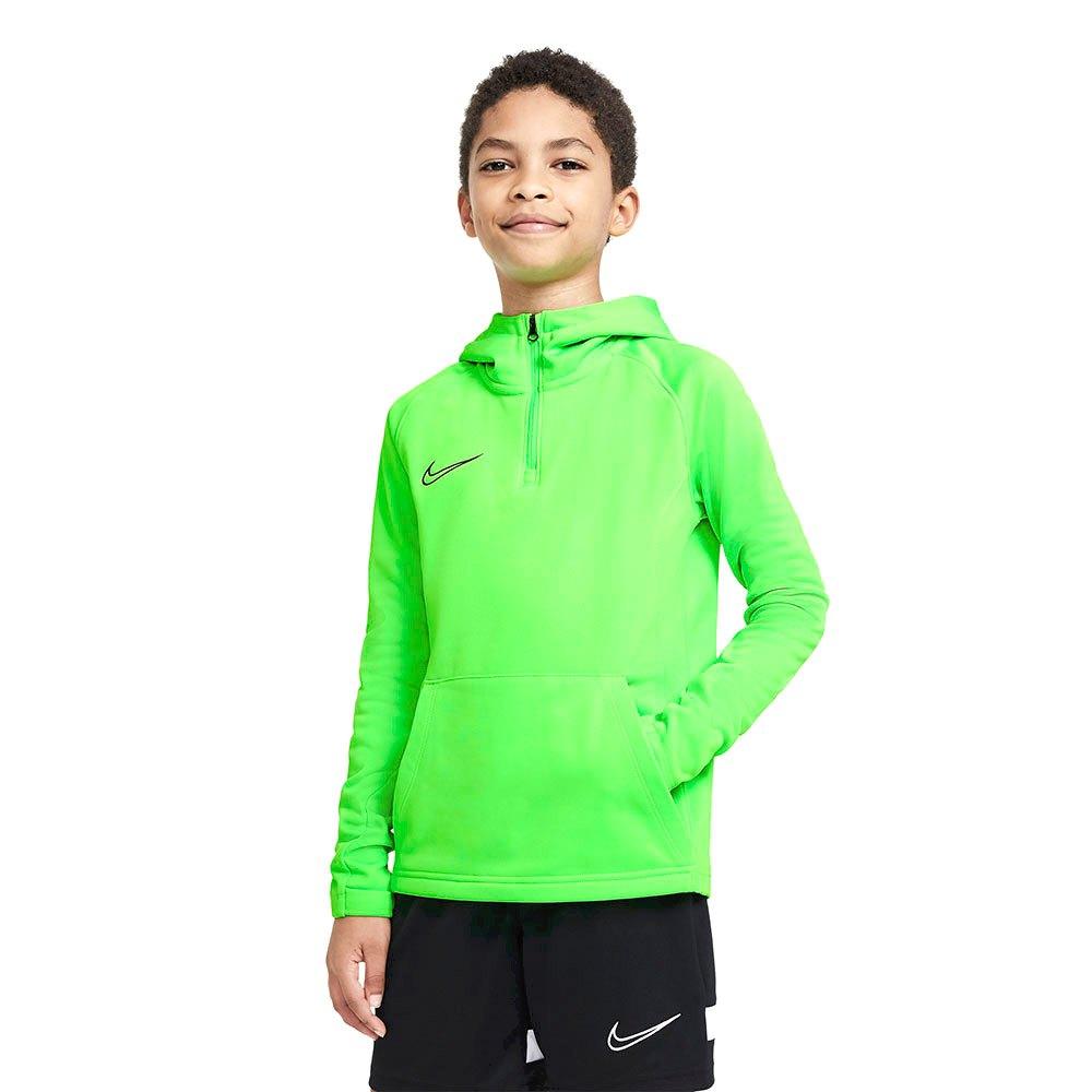 Nike Dri Fit Academy Drill Hoodie S Green Strike / Green Strike / Black / Black