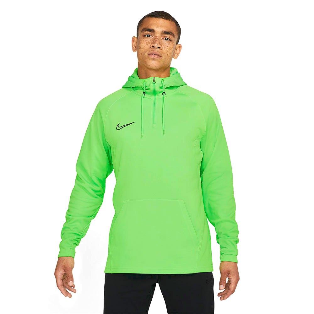 Nike Dri-fit Academy Drill Hoodie L Green Strike / Green Strike / Black / Black