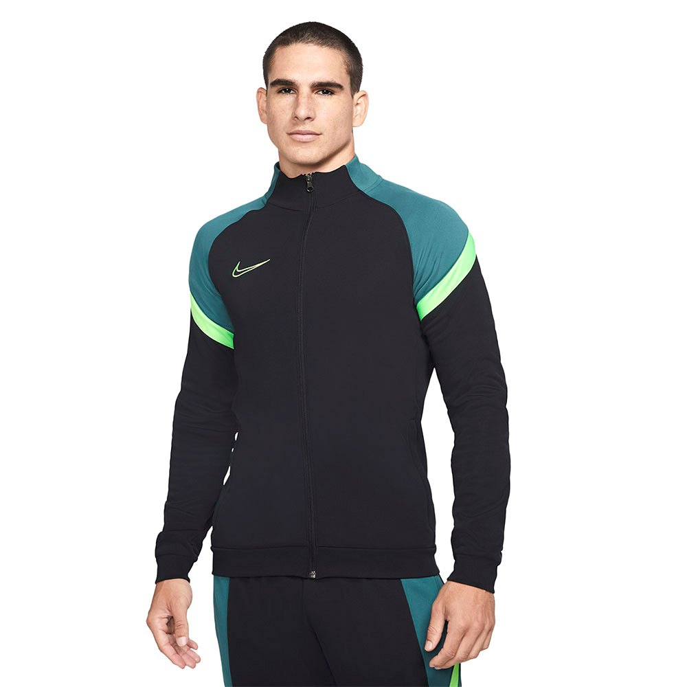 Nike Dri Fit Academy Knit Track L Black / Black / Green Strike / Green Strike