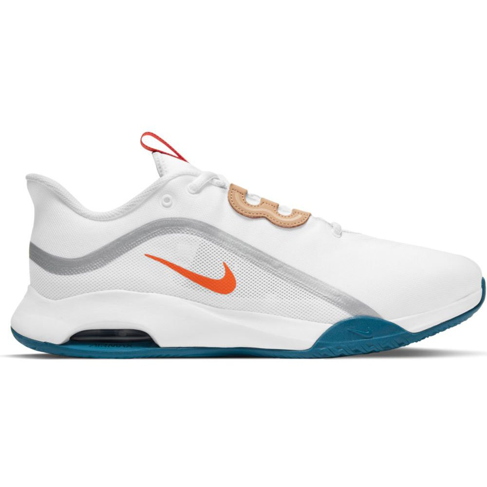 Nike Air Max Volley Hard Court EU 39 White / Team Orange / Green Abyss
