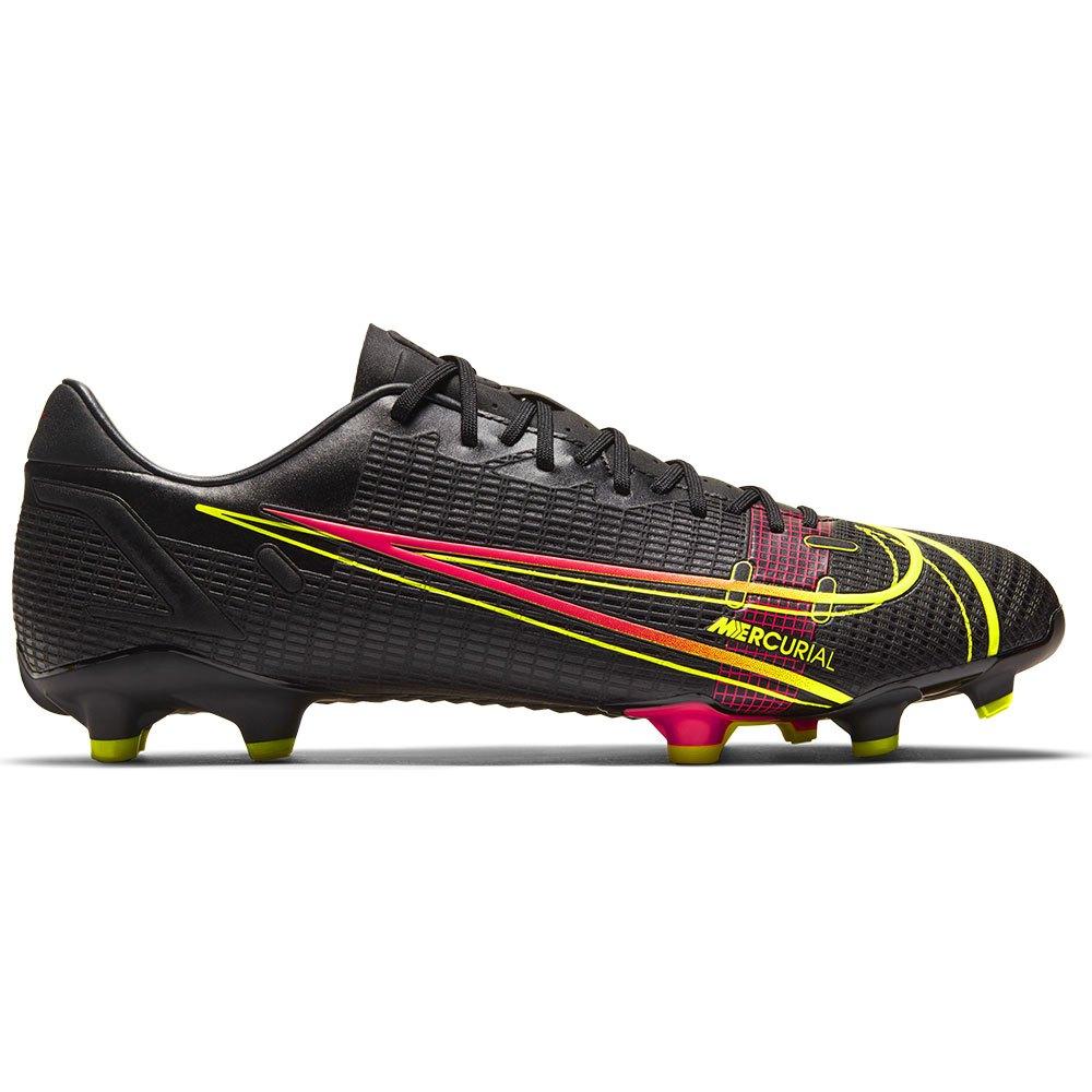 Nike Mercurial Vapor Xiv Academy Fg/mg Football Boots EU 44 Black / Cyber / Off Noir