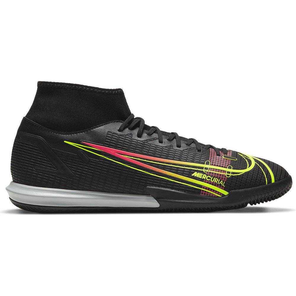 Nike Mercurial Superfly Viii Academy Ic Indoor Football Shoes EU 44 Black / Cyber / Off Noir