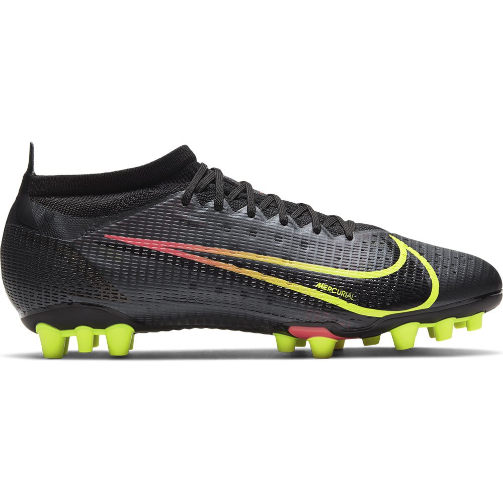 Nike Mercurial Vapor Xiv Pro Ag Football Boots EU 44 Black / Cyber / Off Noir