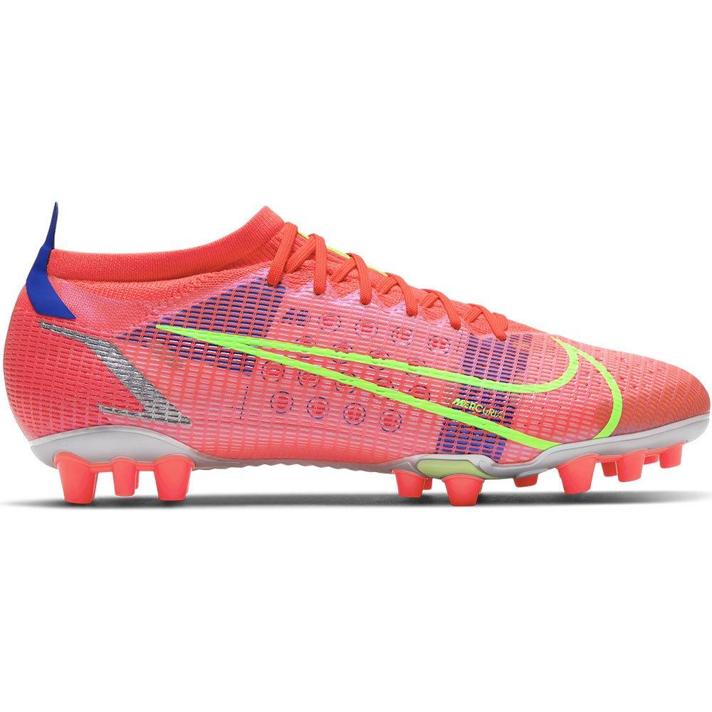 Nike Mercurial Vapor Xiv Pro Ag Football Boots EU 44 Bright Crimson / Metallic Silver