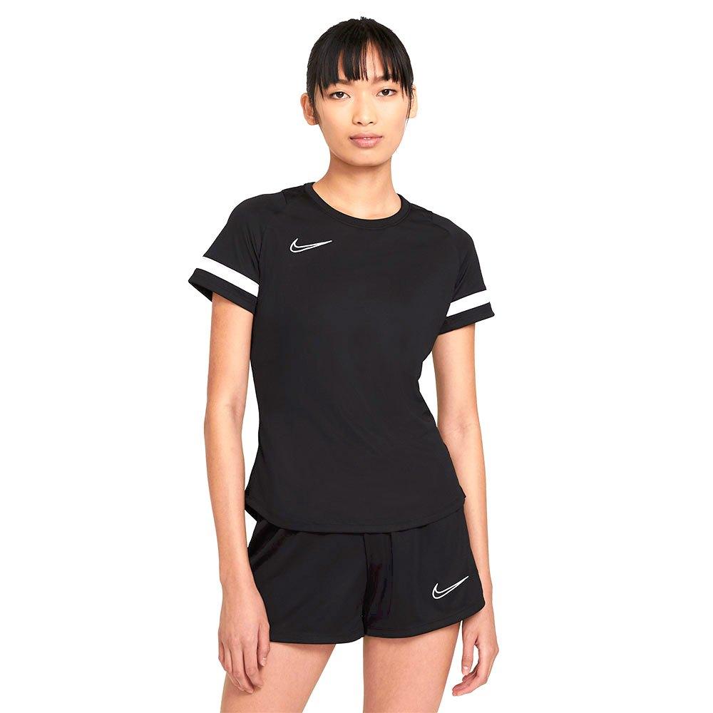 Nike T-shirt Manche Courte Dri Fit Academy L Black / White / White / White