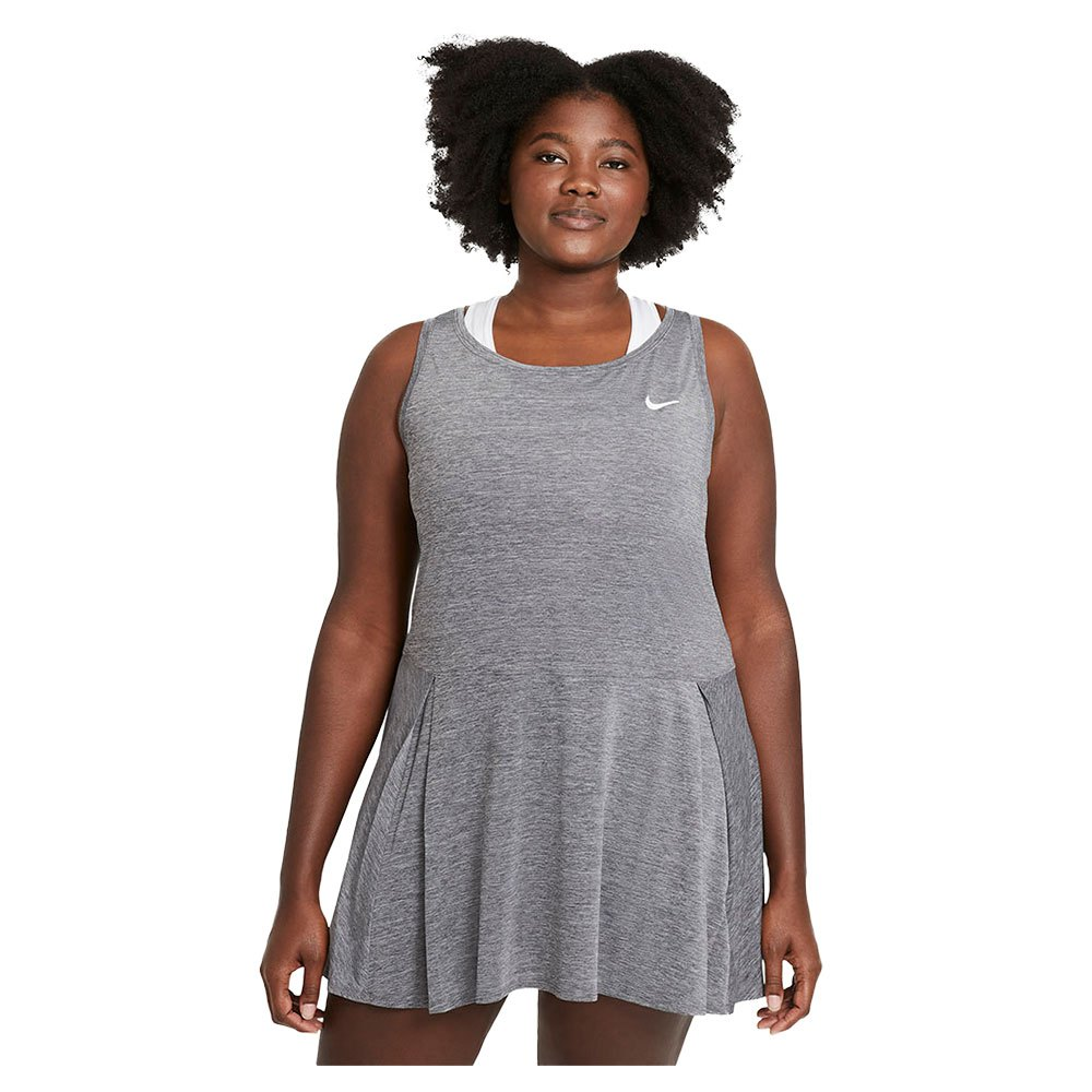 Nike Robe Court Dri Fit Advantage L Black / Black / White