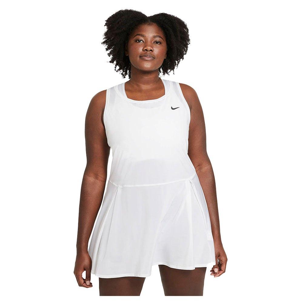 Nike Robe Court Dri Fit Advantage L White / Black