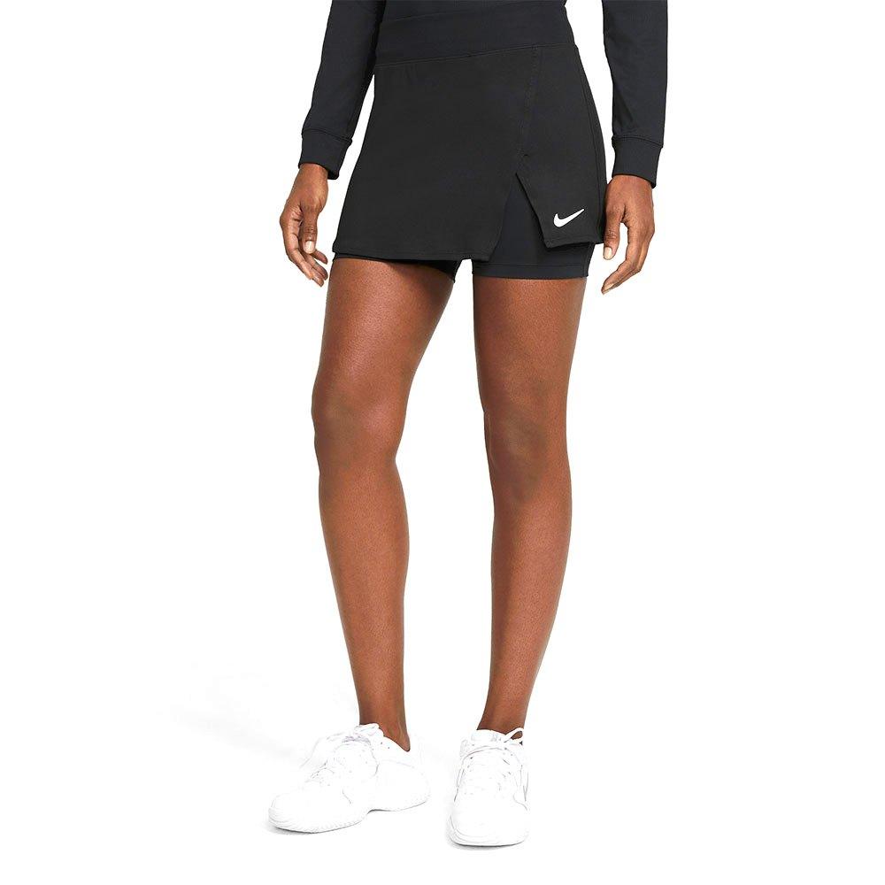 Nike Court Dri Fit Victory Jupe L Black / White