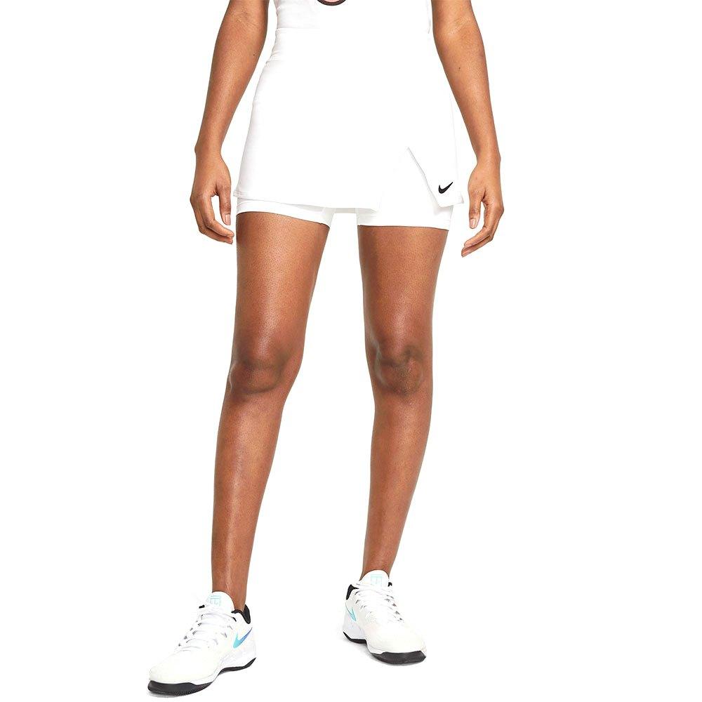 Nike Court Dri Fit Victory Jupe L White / Black