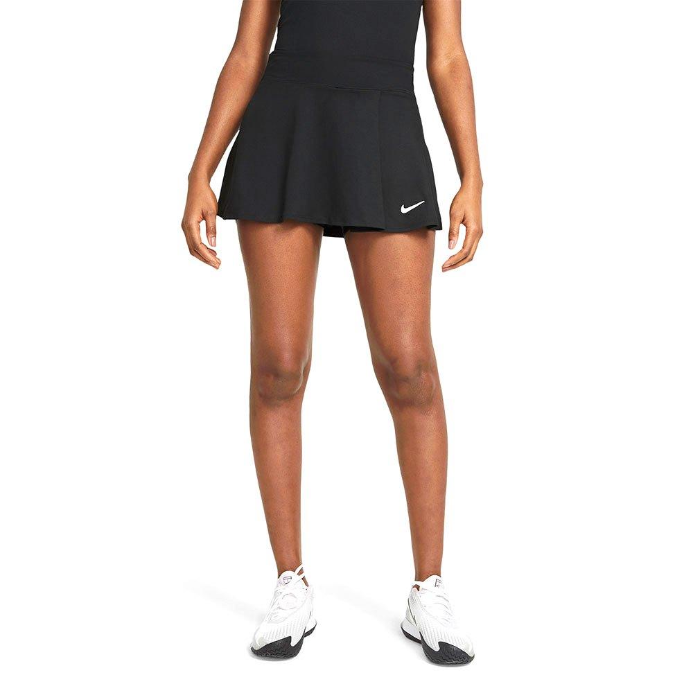 Nike Court Dri Fit Victory Flouncy Jupe XS Black / White